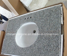 G623 Rosa Beta Granite Laminate Cabinet Vanity Top para Bathroom