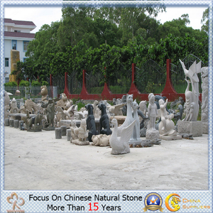 Jardín Sculpture de China Granite Stone Outdoor con Different Kinds
