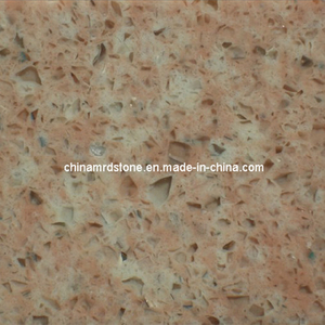 Pink popular Color Artificial Quartz para Flooring o Countertop