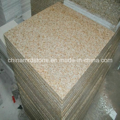 G682 Golden Yellow Granite Flamed Tile o Pavers