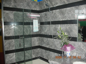 Marble Luz-gris natural Bathroom Floor o Wall