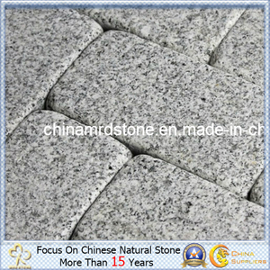 Sesame barato White/Grey Granite Tumbled Stone para Paving