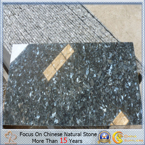 Blue Polished Pearl Granite Thin Tile para Flooring Decorative
