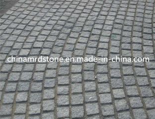 G654 popular Granite Cobble Stone para la plaza o el jardín