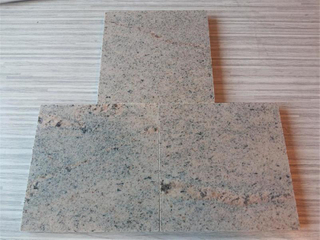 Nueva Cachemira White Colourful Tiles para Granite chino