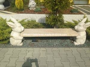G682 Rusty Yellow Granite Bench para el jardín Decoration de Outdoor