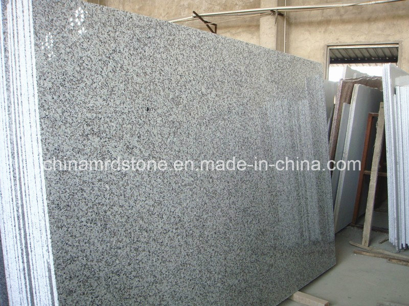 G439 barato Big White Flower Granite Thin Tile y Slab