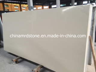 Beige puro Engineered Quartz para Popular Vanity Tops