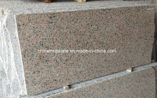 G563 Sanbao Red Granite para Floor Tile o Step Slab