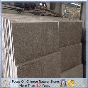 G635 Pink Rose Granite Thin Slab para Medio Oriente Market
