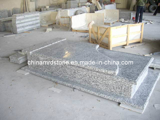 Onda White Granite Monument para Market europeo