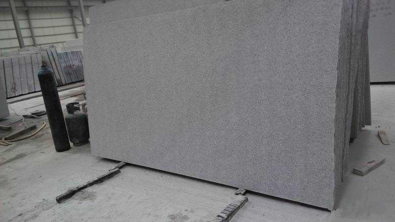 Big flameado Slabs con Grey Granite G603