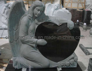 Modificar Kneeling para requisitos particulares Angel Tombstone con Style americano
