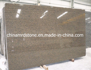 Precut Polished Tropic Brown Granite Slab for Kitchen Counter
