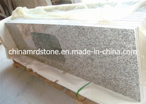 Prefabricated al por mayor Tiger Skin White Granite Laminate Countertop para Kitchen