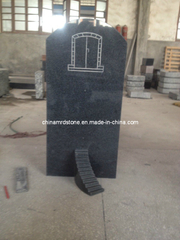 Padang Dark G654 Granite Monuments para Market europeo