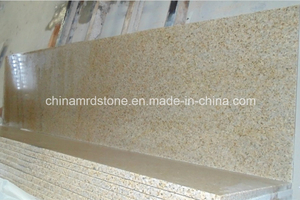 Golden precortado Beach Granite Kitchen Top para los E.E.U.U. Market
