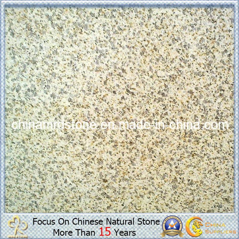 Giallo chino Fiorito Granite Tile para Exterior Wall