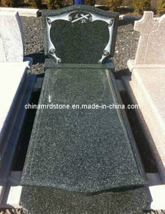 El último Style Hassen Green Granite Single Monument para Market europeo