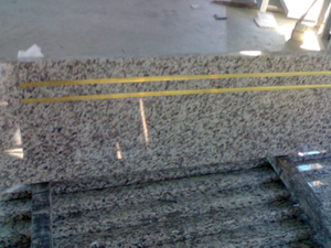 Tiger Polished Skin Red Granite Stone Steps para Interior