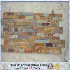 Yellow natural Rusty Quartzite para Wall Cladding