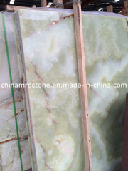 Green natural Onyx para Floor Tile o Background Wall
