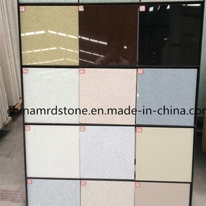 Colorful popular Quartz Floor Tile para Market americano/europeo