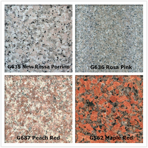 Popular al por mayor Red chino Granite para Medio Oriente Market