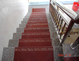 Natual chino Granite Polished Steps Used para Floor (MRD2050)